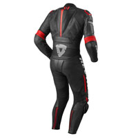 Rev'it Masaru Leather Suits Black Red