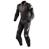 Rev'it Vertex Pro 2pc Suit Black Red