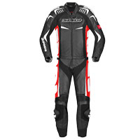 Spidi Track Touring Suit 2pc Black Red