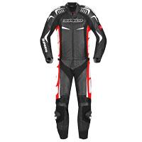 Spidi Track Touring Suit 2 Pezzi Nero Rosso