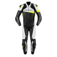 Spidi Race Warrior Perforated Leather Suit Yellow
