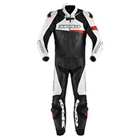 Spidi Race Warrior Touring traje 2 piezas rojo
