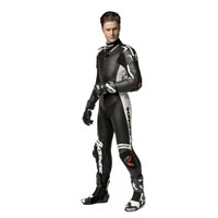 Spidi Replica Piloti Wind Pro Leather Suit Black