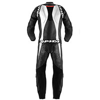 Spidi Tuta In Pelle Supersport Touring Nero Bianco