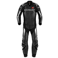 Spidi Supersport Touring Leather Suit Black White