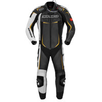 Spidi Track Wind Pro Leather Suit Black Gold