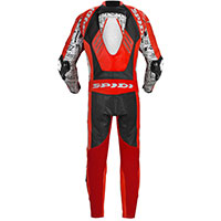 Traje Entero Spidi Track Wind Replica Evo rojo