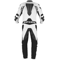 Spidi Warrior 2 Wind Pro Leather Suit Black