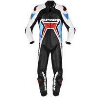 Spidi Warrior 2 Wind Pro Leather Suit Rosso Blu