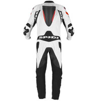 Spidi Warrior 2 Wind Pro Leather Suit Rosso
