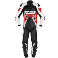 Spidi Warrior 2 Wind Pro Leather Suit Red