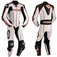 Ixon Suit Zenith White Black Red