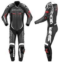 Spidi Track Wind Replica Evo Leather Suit Black