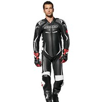 Spidi Track Wind Pro Suit Black White