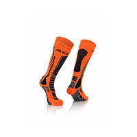 Acerbis Mx Socks X-pro Orange Fluo