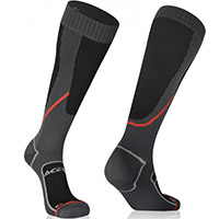 Acerbis No Wet Socks Black Grey