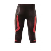 Acerbis X-body Summer Black Red Pants - 3