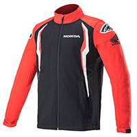Giacca Alpinestars Honda Softshell Rosso Nero