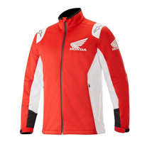 Alpinestars Honda Softshell Jacket Orange