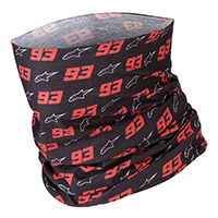 Alpinestars Mm93 Neck Tube Black Red White