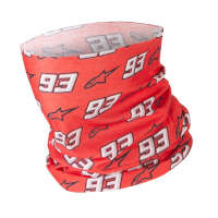 Alpinestars Mm93 Neck Tube Red White