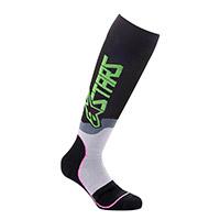 Alpinestars Mx Plus 2 Socks Green Pink