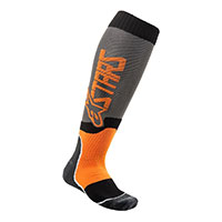 Calcetines Alpinestars Mx Plus 2 naranja gris