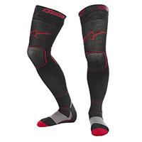 Calcetines Alpinestars Mx Largo negro rojo