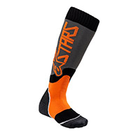 Alpinestars Youth Mx Plus 2 Socks Orange Kid