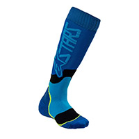 Alpinestars Youth Mx Plus 2 Socks Blue Kid