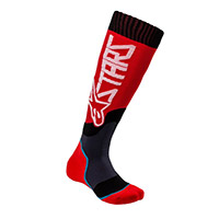 Alpinestars Youth Mx Plus 2 Socks Red Kid