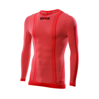Six2 Crew Neckline Long Carbon Ts2 4season Red