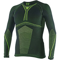 Dainese Maglia D-core Armor Tee Ls Giallo Fluo