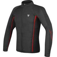 DAINESE D-CORE NO WIND THERMO TEE LS rojo