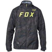 Fox Moth Windbreaker Jacket Black Camo