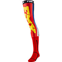 Fox Linc Knee Brace Socks Red Yellow