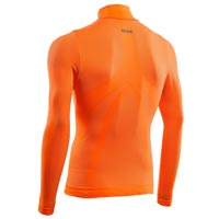 Six2 Turtleneck Long Sleeves Ts3 4seasons Orange Fluo