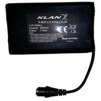 Klan 7,4 Volt 6,0a Battery Pack