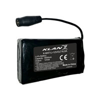 Klan 12volt 6,0a Battery Pack