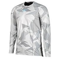クリム アグレッサー クール 1.0 LS シャツ グレー の迷彩