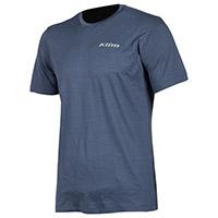 Klim Teton Merino Wool Ss Shirt Blue