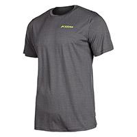 Klim Teton Merino Wool Ss Shirt Asphalt