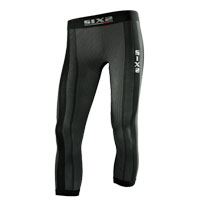 Six2 Leggings Kinds Carbon Underwear Nero Bimbo