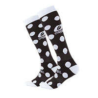 O Neal Pro Mx Candy Socks Black White