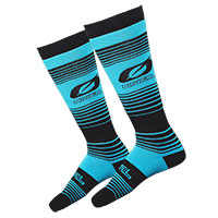 O Neal Pro Mx Stripes Socks Black Teal