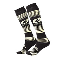 O Neal Pro Mx Stripes Socks Black Yellow
