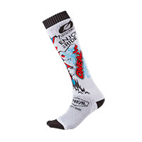 O Neal Pro Mx Villain Socks White