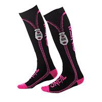 O Neal Pro Mx Zipper Socks Pink