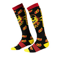 O Neal Pro Mx Boom Socks Black Yellow