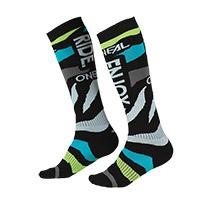 O Neal Pro Mx Zooneal Socks Blue Yellow